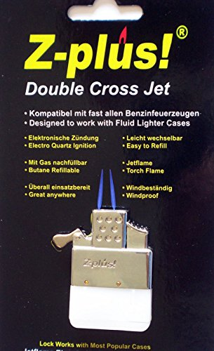 Z-Plus Double Twin Cross Jet Torch flame Replacement