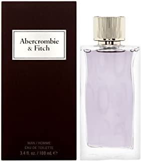 Abercrombie & Fitch First Instinct | Eau de Toilette | Men's Fragrance | Fresh, Clean, Pleasant Scent with Notes of Gin & Tonic, Kiwano Melon, Szechuan Pepper, and Sueded Musk | 3.4 oz