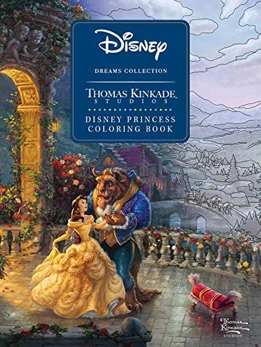 Disney Dreams Collection Thomas Kinkade Studios Disney Princess Coloring Book product image