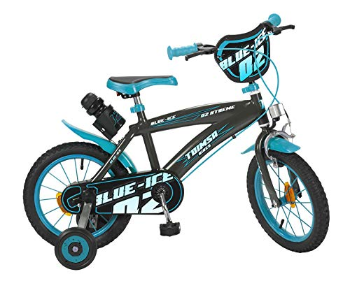 "TOIMSA - Bicicleta 14"" Modelo Blue Ice 4-6 años, 14115"