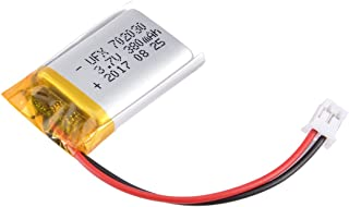 uxcell Power Supply DC 3.7V 380mAh 2P PH 2.0mm Pitch Li-ion Rechargeable Lithium Polymer Li-Po Battery
