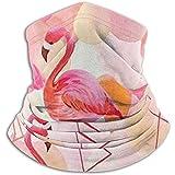Calentador de cuello rosa Polaina para hombres Mujeres Diadema Mascarilla Bandana Head Wrap Bufanda Headwear Invierno Pasamontañas Ski Running Motocicleta