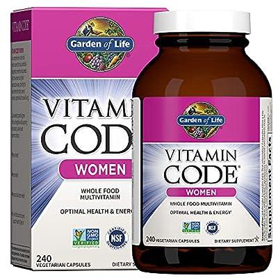 Garden of Life Vitamin Code Women's Multi, 240 Capsules