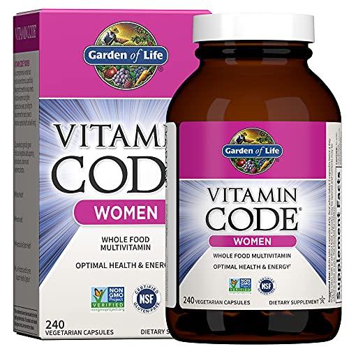 Garden of Life Multivitamin for Women, Vitamin Code Women's...