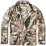 Brandit Men's Britannia Jacket, Mehrfarbig (Light Woodland 107), Small