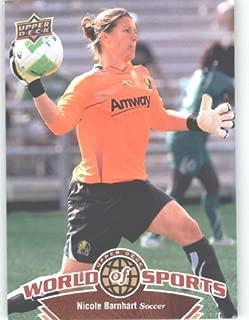 2010 Upper Deck World of Sports #112 Nicole Barnhart/Women's Soccer Cards/Stanford Cardinals /