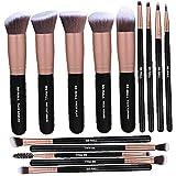 Uayasily 14pcs del Maquillaje del Sistema De Cepillos del Maquillaje De Kabuki Sintético Suave Cepillo Cosméticos Fundación Mezcla Blush Delineador De Ojos En Polvo Frente a