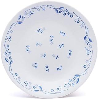 Corelle Livingware Provincial Blue Dinner Plate Set, 26cm, Set of 6