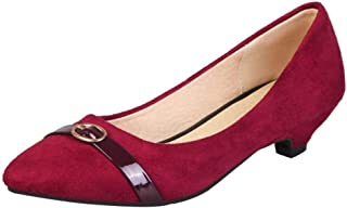 FANIMILA Women Comfort Cone Heel Shoes