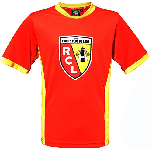 Rc2 Brand Trikot Racing Club de Lens – Offizielle Kollektion RCL – Liga 1 – Erwachsenengröße Herren M Sangue e ORO - Sangue e ORO