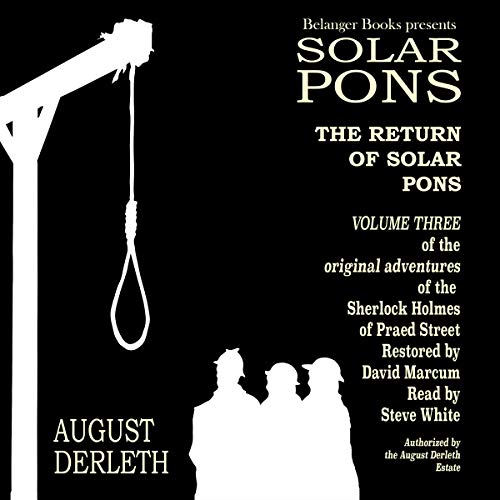 The Return of Solar Pons audiobook cover art