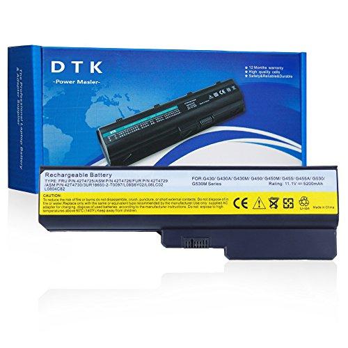 Dtk® Batterie de pour Ordinateur Portable Lenovo G430 G450 G530 G550 L08S6Y02 42T4729 42T4730 L08L6C02 l08s6c02 [11,1 V 4400mah]