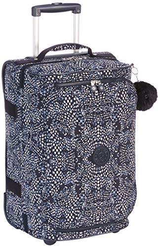 Kipling TEAGAN S Equipaje de mano, 54 cm, 39 liters, Varios colores (Soft Feather)