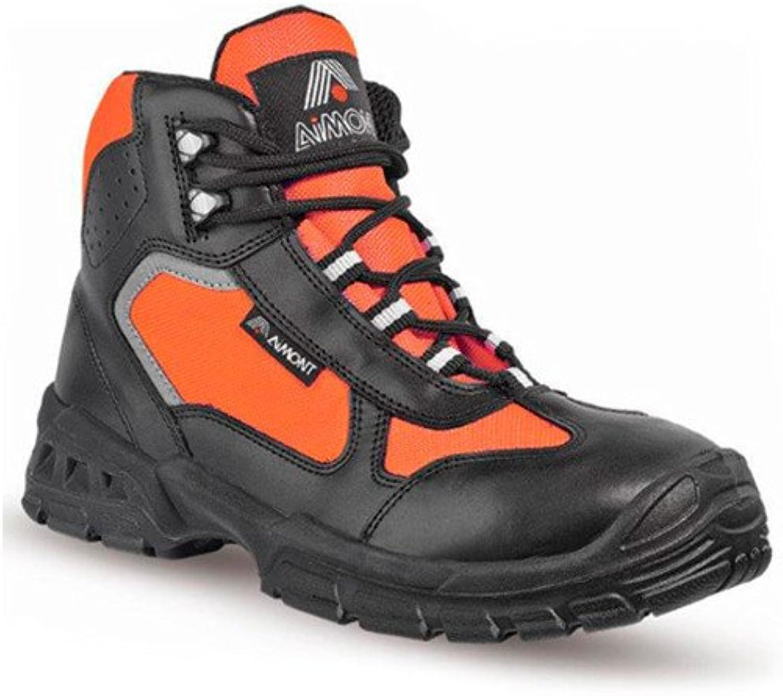 AIMONT Life Sicherheits-Stiefel S3 S3 S3 SRC En ISO 20345 Orange  2d5c7d