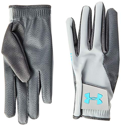 Under Armour Herren Storm Golf Gloves Handschuhe, Grau, Large
