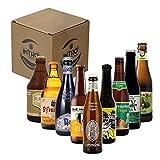 INTRO BEER CLUB Box Degustazione Birre Artigianali - Selezione di Birre dal Mondo'Blonde Beer Top Selection' - Kit con 9 Bottiglie da 33cl - Confezione Idea Regalo Uomo