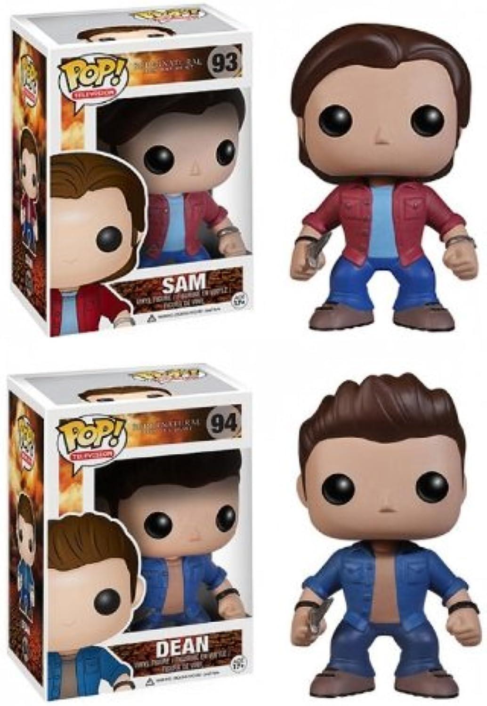 Funko Supernatural Sam & Dean Pop TV Vinyl Figur Combo