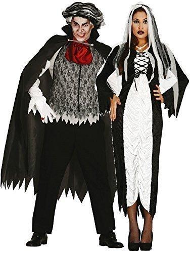 donna e nero da uomo / BIANCO COPPIA VAMPIRO & SPOSA Halloween Costumi Set