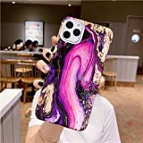 iPhone 11 pro max case with Screen Protector,iPhone 11 pro max Marble case,iPhone 11 pro max case Purple