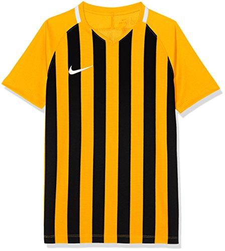 Nike Y Nk STRP Dvsn III JSY SS T-Shirt, Bambino, University Gold/Black/White/(White), S
