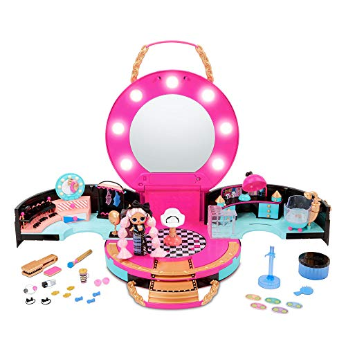 L.O.L. Surprise! Hair Salon Playset with 50 Surprises and Exclusive JK Mini Fashion Doll
