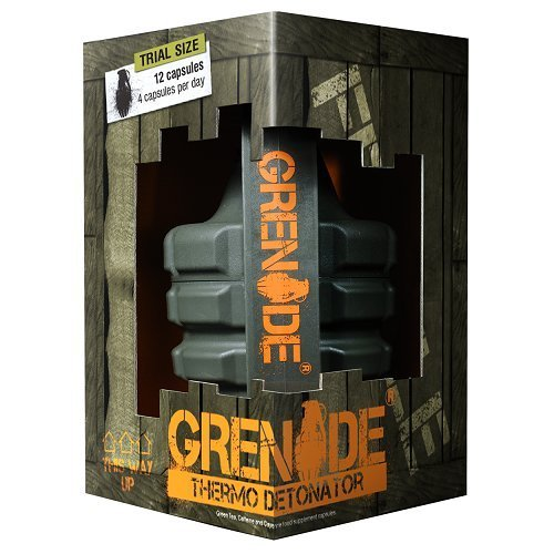 Grenade Thermo Detonator Weight Management Supplement - Pack of 12 Capsules