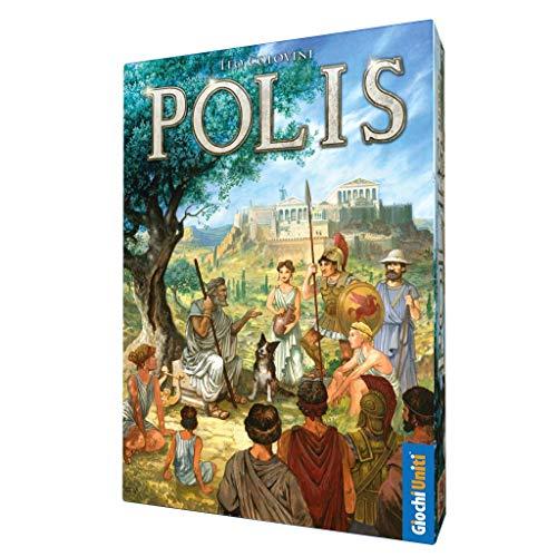 Giochi Uniti- POLIS GU628 Brettspiel, Mehrfarbig