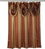 Popular Bath 340358 CONTEMPO, Shower Curtain, Spice
