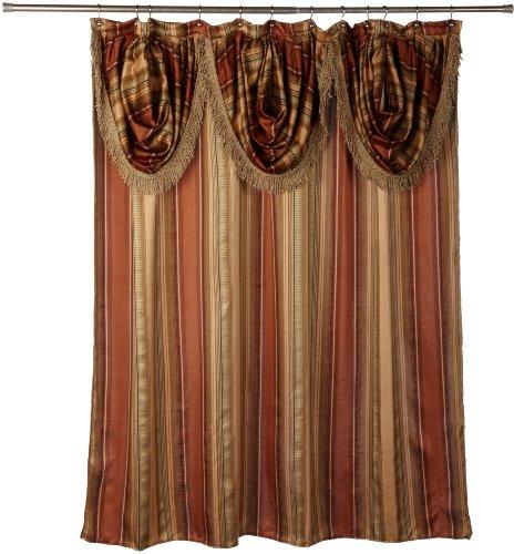 Popular Bath CONTEMPO, Shower Curtain, Spice