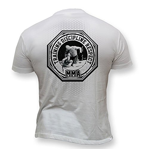 Dirty Ray Arts Martiaux MMA Fighter t-shirt homme DT3 (S)