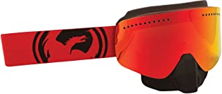 Dragon NFX Goggle RED/Black Split W/RED ION. Lens