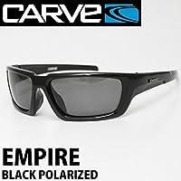 CARVE サングラス カーブ EMPIRE エンパイア BLACK POLARIZED 偏光レンズ 偏光グラス