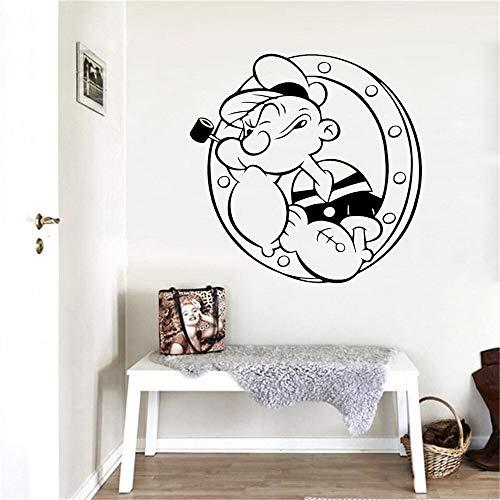 Yaonuli feestdagdecoratie, cartoonpatroon, wandsticker, verwijderbare woonkamerslaapkamer-wanddecoratie