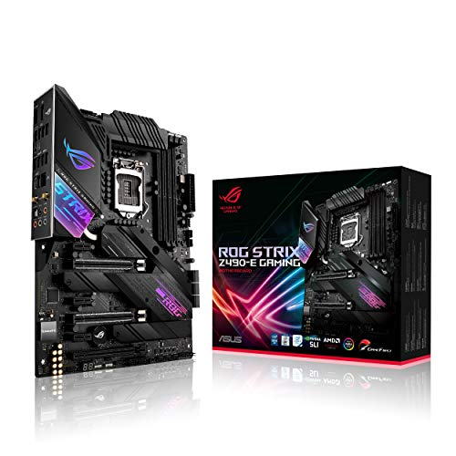ASUS ROG Strix Z490-E Gaming - Placa Base Gaming ATX Intel de 10a Gen LGA 1200 con VRM de 16...