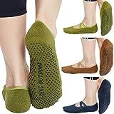 Best Barre Socks - Women's No Show Low Cut Hospital Slipper Socks Review