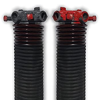 DURA-LIFT .234 x 2  x 31  Torsion Garage Springs  Brown Left & Right Wound