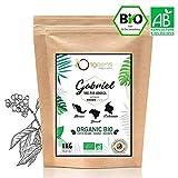 CAFE GRAIN BIO 1kg | Café en Grain Arabica | Torréfaction Artisanale | Gabriel