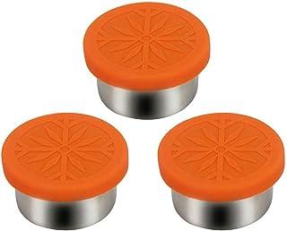 HJUYV-ERT Boîtes à épices Boîtes de Rangement pour Organisateur de Cuisine avec Couvercle en Silicone Conteneur à Condimen...