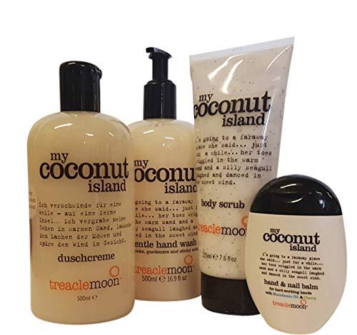 Treaclemoon my Coconut island 4-tlg. Set Dusche Handwash Peeling Handcreme