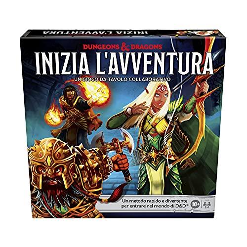 Asmodee Italia - Dungeons & Dragons: Inizia L'Avventura, Gioco da Tavolo, Edizione in Italiano, 2986