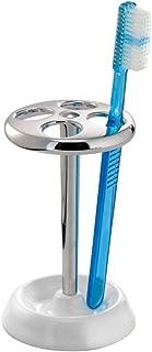 InterDesign York Holder holds upto 4 toothbrushes