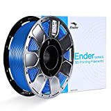 PLA 3D Printer Filament, Creality Ender Series,Upgrade Stronger Toughness Printing Consumables,Dimensional Accuracy +/- 0.03 mm, 1 kg Spool, 1.75 mm, Fit Most FDM Printer,Blue