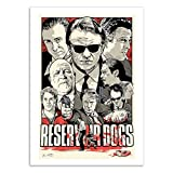 Wall Editions Art-Poster - Reservoir Dogs - Joshua Budich