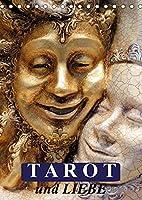 Tarot und Liebe (Tischkalender 2022 DIN A5 hoch): Mit dem Tarot durch das Jahr! (Monatskalender, 14 Seiten )