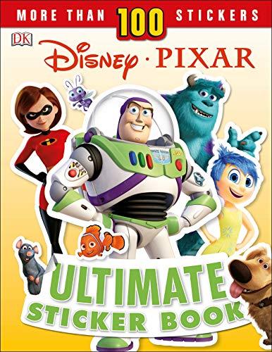 Disney Pixar Ultimate Sticker Book, New Edition