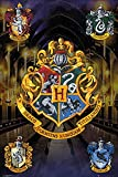 Harry Potter 1art1 Blasones, Hogwarts, Hufflepuff,