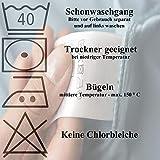 Bettwäsche 2 Teilig, Renforce-Baumwolle, Reißverschluss, 155x220 cm, Rot Grau, Mandala Boho - 5