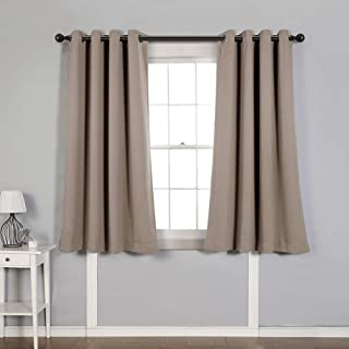 MYSKY HOME Blackout Curtain for Bedroom, Grommet Room Darkening Curtain, Amazing Triple Weave Thermal Insulated Curtain, 1...