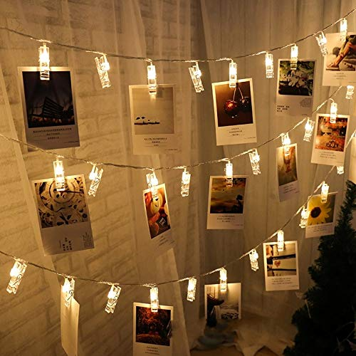 LED String Light Photo Clip Fairy-Tale Garland Bedroom Christmas Decoration Party Light String USB 3m30 LEDs