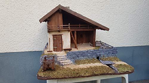 Alpenländische Krippe